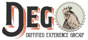 Duffified Experience Group Logo - Dark